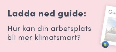 Guide: Hur kan din guide bli mer klimatsmart?